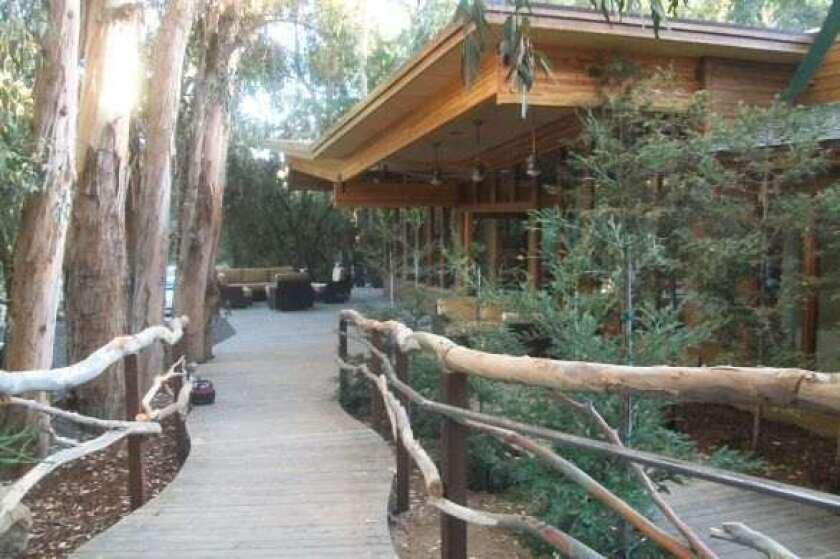 The new Biggest Loser Resort at Fitness Ridge in Malibu.