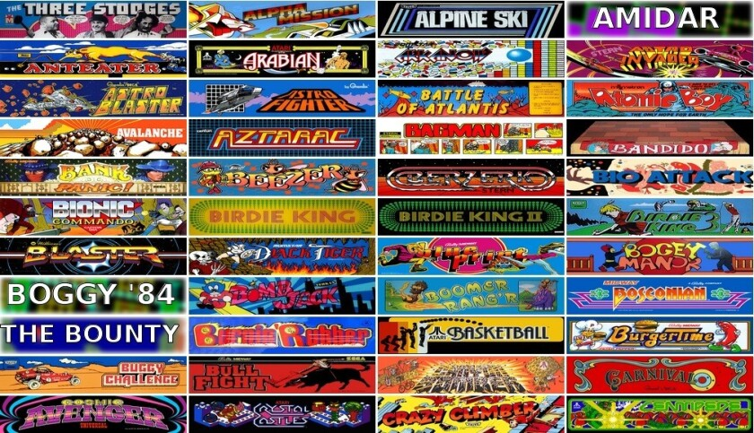 Internet Arcade: 900-plus old-school games playable from