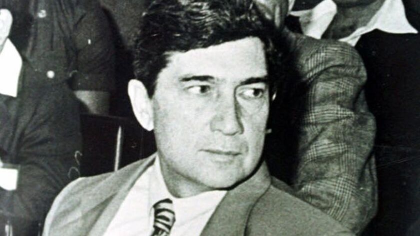 ** FILE ** Cuban exile Luis Posada Carriles is seen in this 1985 file photo taken in an unknown loca