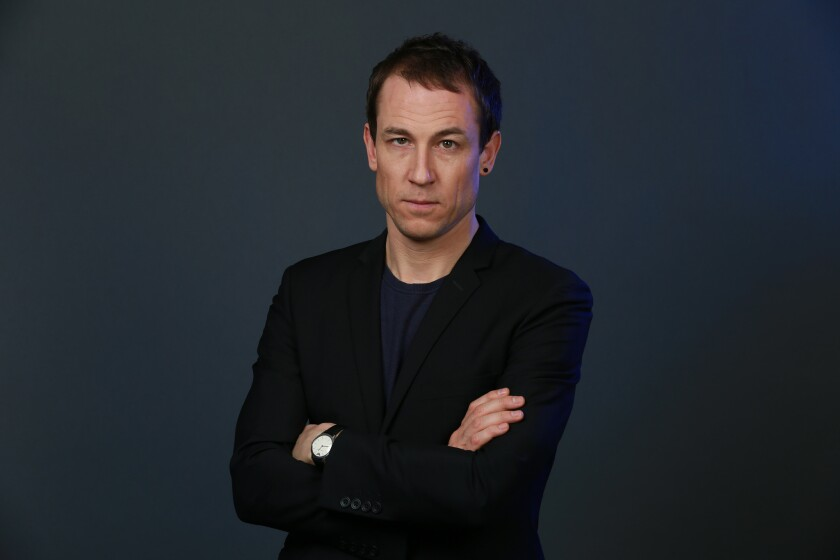 "Tobias Menzies stars in ""Outlander,"" the Starz drama series based on the historical time-travel novels by Diana Gabaldon."