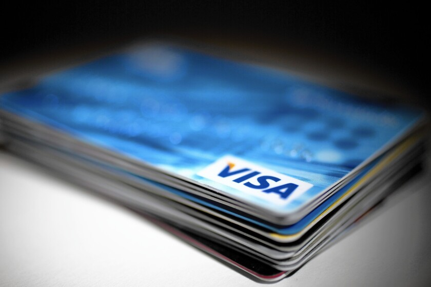 The transaction is Visa's latest effort to make a push into the fast-growing fintech sector.