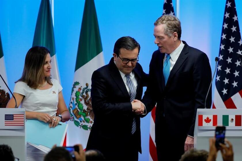 México encara ronda del TLCAN sin ministros y antecedida por nuevas amenazas