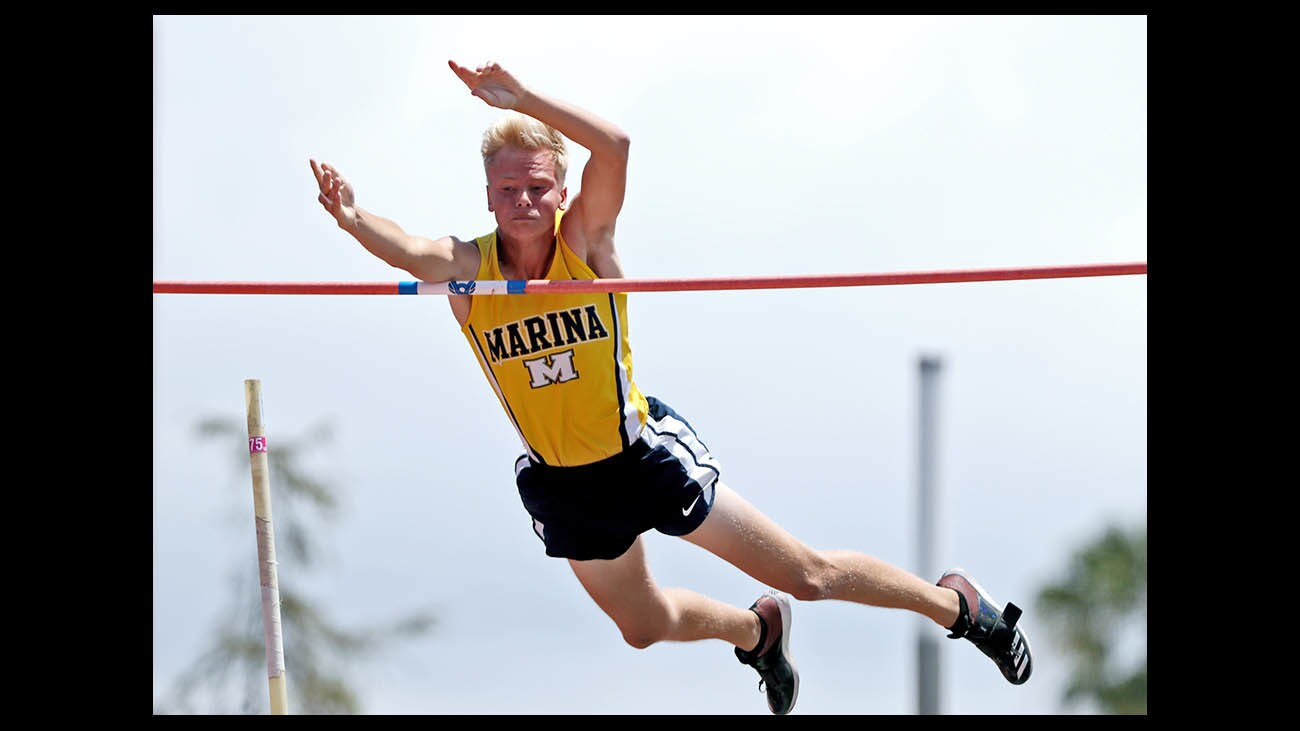 Photo Gallery: CIF SS Track & Field Masters Meet, Marina High's Magula wins