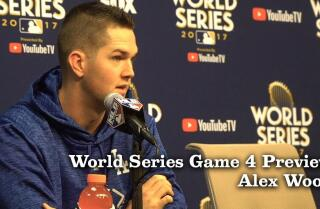 Alex Wood on pitching the Game 4 of the World Series