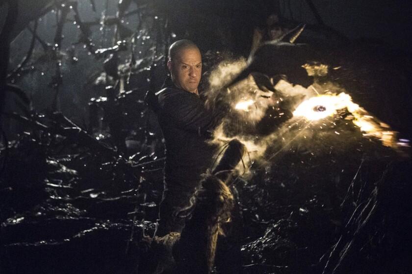 "Vin Diesel stars as Kaulder in ""The Last Witch Hunter."""