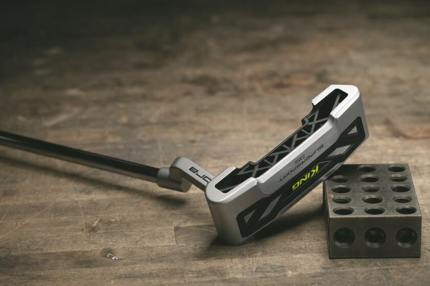 Cobra's 3D printed putter, the King Supersport-35.