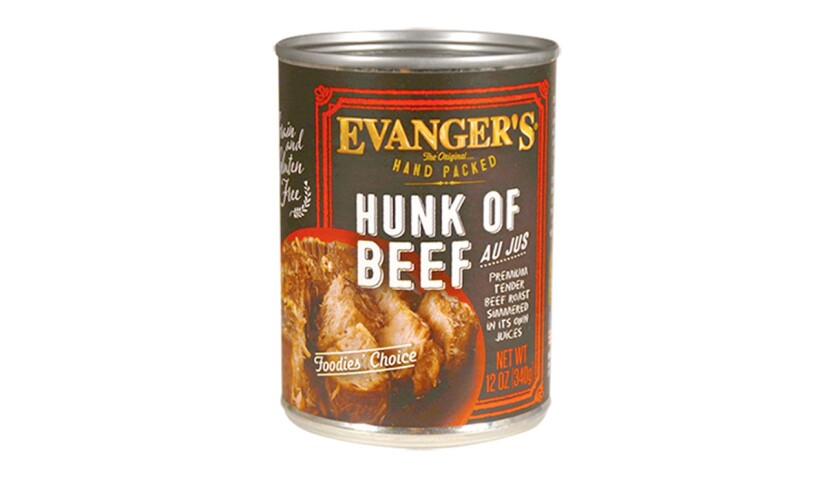 Wheeling-based pet food company Evanger's has recalled some lots of its Hunk of Beef dog food over concerns it may contain a sedative used to euthanize animals.