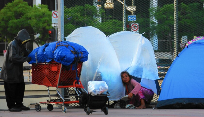 State of emergency on homelessness
