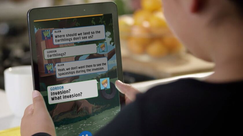 The new Amazon Rapids mobile app is an e-books-like app just for kids ages 7 to 12.