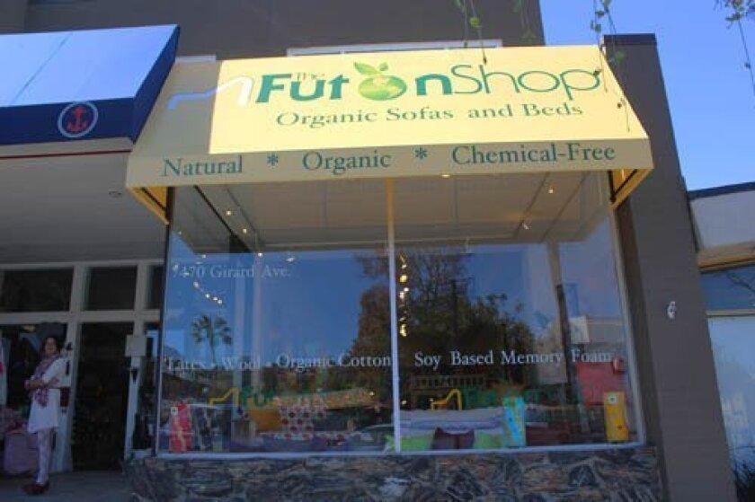 The Futon Shop showroom has opened at 7470 Girard Ave. (near Pearl Street). Pat Sherman