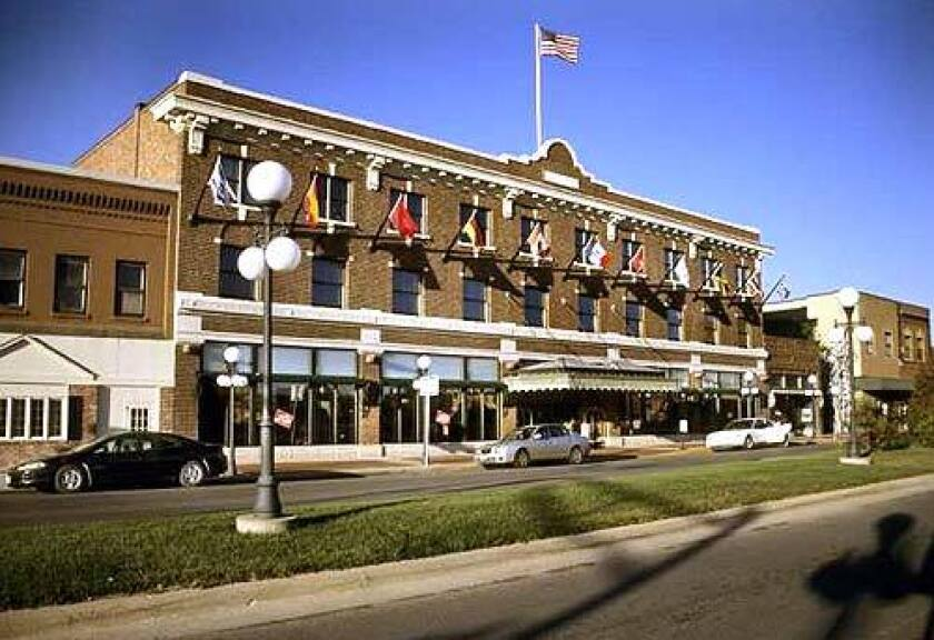 Roberta Ahmanson grew up in Perry, Iowa, home of Hotel Pattee. She and her husband renovated and modernized the hotel.