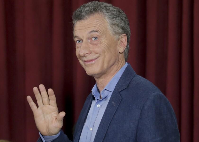 Macri augura fin de populismo argentino y triunfo opositor - San Diego  Union-Tribune en Español