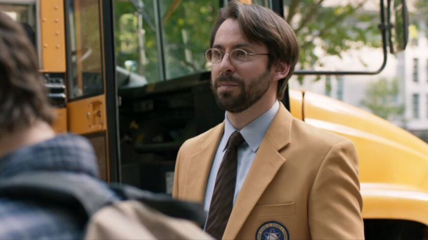 """Martin Starr in """"Spider-Man: Homecoming."""""""