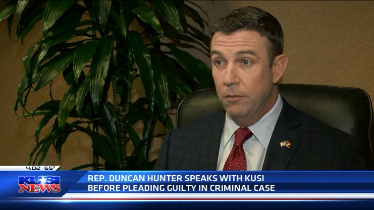 KUSI's Duncan Hunter 'interview' was limited to questions suggested by his staff
