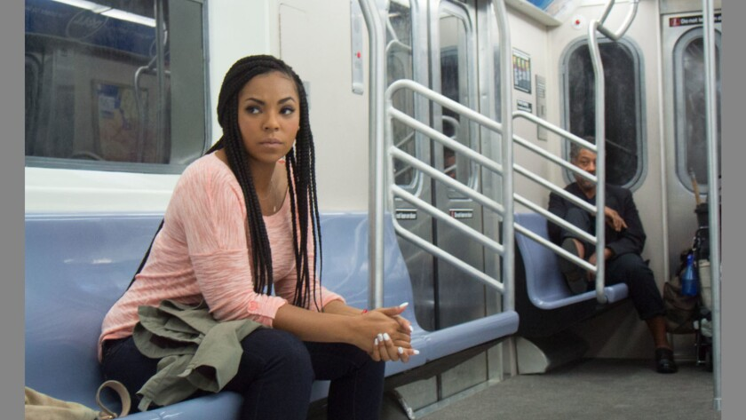 """Ashanti Giancarlo in a scene from """"Stuck."""" Credit: MJW Films and Eammon Films"""
