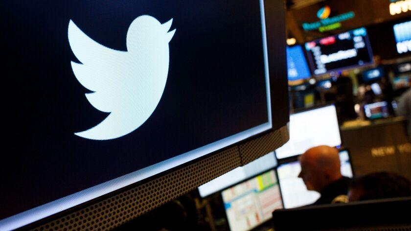 Twitter Shares Drop over 20 Percent, New York, USA - 27 Jul 2018