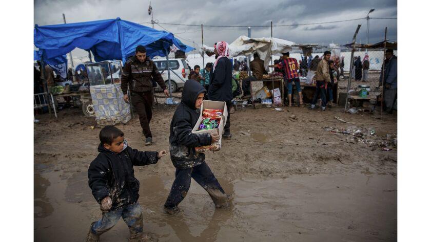 Fleeing Islamic State