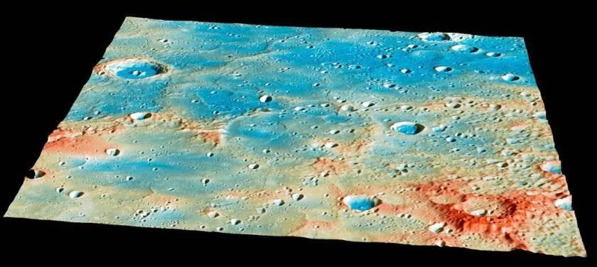 Messenger's Mercury crash site