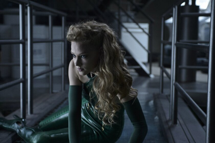 "Svetlana Khodchenkova as Viper in a scene from the movie ""The Wolverine."""