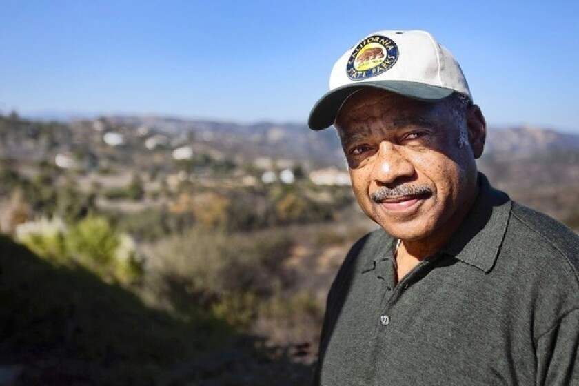 Former Maj. Gen. Anthony L. Jackson, the new director of the California State Parks and Recreation Department, at his 5-acre Fallbrook home.
