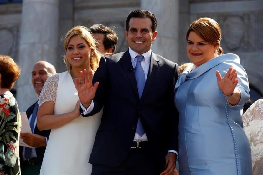 """El gobernador de Puerto Rico, Ricardo Rosselló, se expresó hoy a favor del proyecto para establecer la """"Ley para la descolonización inmediata de Puerto Rico"""" y que la isla se incorpore como el estado 51 de Estados Unidos y se celebre un plebiscito sobre estadidad o independencia. EFE/ARCHIVO"""