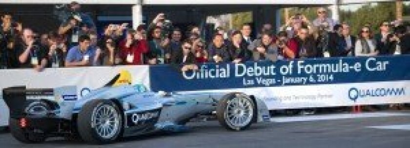Formula-e debut at International CES 2014