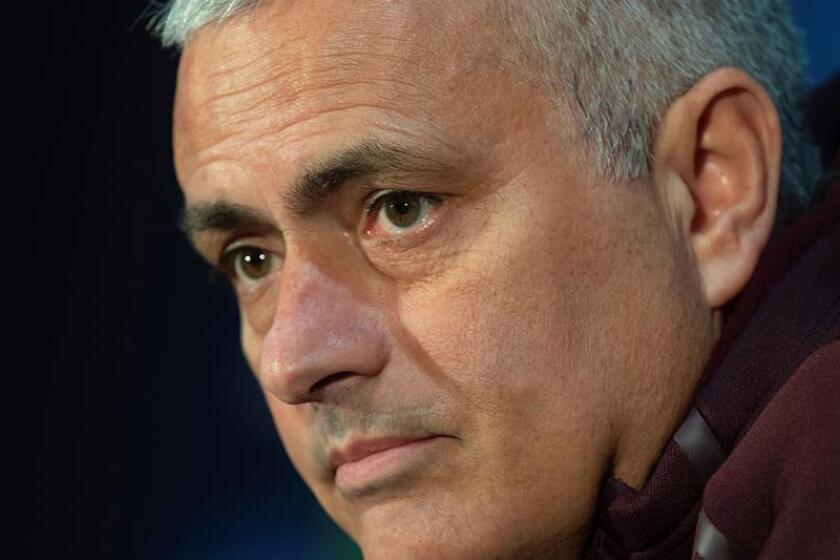 El entrenador del Manchester United, el portugués Jose Mourinho. EFE/Archivo