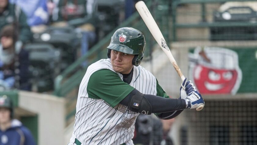 Padres first base prospect Brad Zunica spent the last two seasons with low Single-A Fort Wayne.