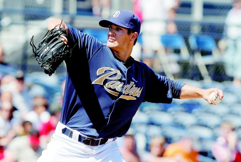 Cory Luebke is the third young player the Padres have locked up with a new deal. Lenny Ignelzi • AP