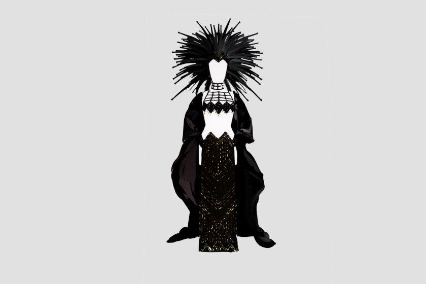Cher Oscar dress