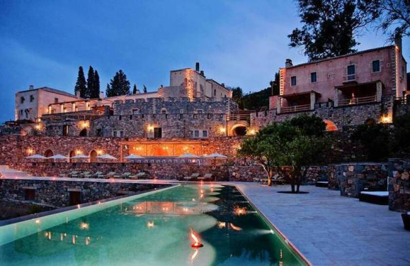 Greece: A journey to Monemvasia, a former rock-island fortress of the Peloponnese.