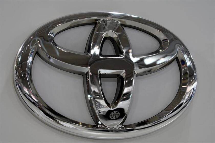 A Toyota logo is seen at the company's showroom in Tokyo, Japan, 06 February 2017. EFE/EPA/FILE