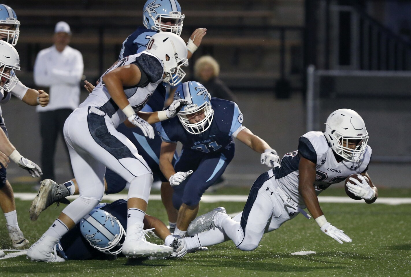 Photo Gallery: Corona del Mar football vs. JSerra