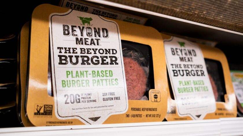 Beyond Meat Product, New York, USA - 03 May 2019