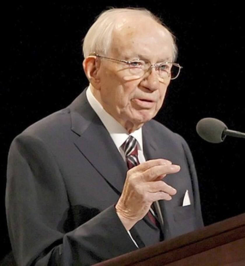 Hinckley restored vitality to the church's presidency.