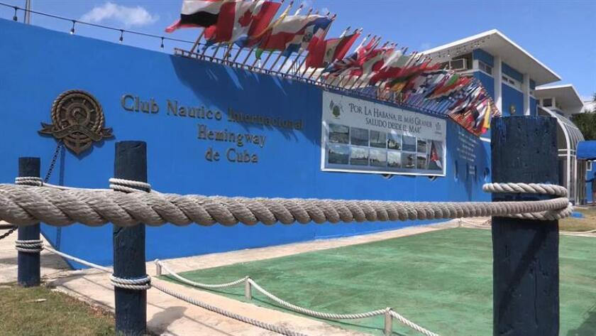 """Esta carrera entre la localidad floridana y La Habana surgió en 1930 como la primera regata oceánica entre Estados Unidos y Cuba, y fue la última en conectar a los dos países en 1959, hasta su reanudación en 2017 tras el """"deshielo"""" diplomático entre ambas naciones, que restablecieron vínculos oficiales en 2015. EFE/Archivo"""