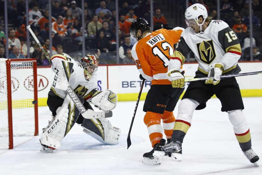 Golden Knights Flyers Hockey