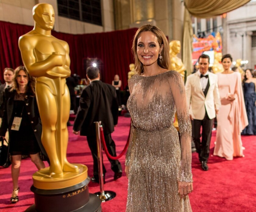 Expect to see Angelina Jolie at the Oscars next year, too.