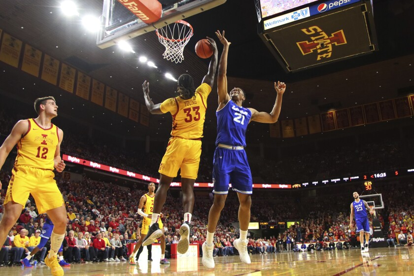 Seton Hall Iowa St Basketball