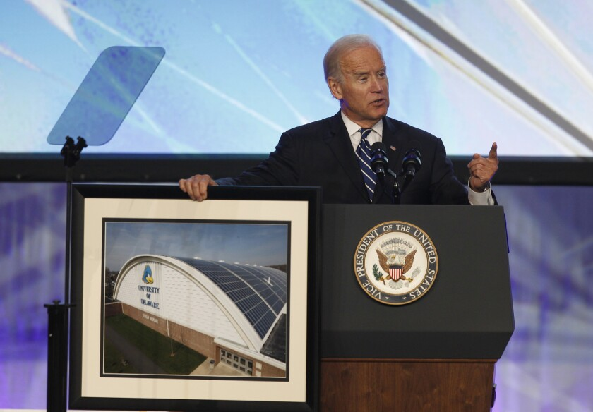 Joe Biden on climate change
