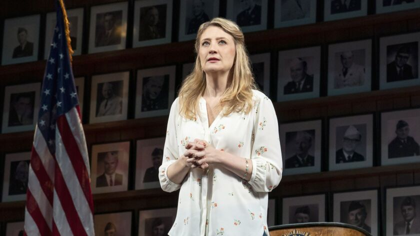 "Heidi Schreck in ""What the Conststution Means to Me."""