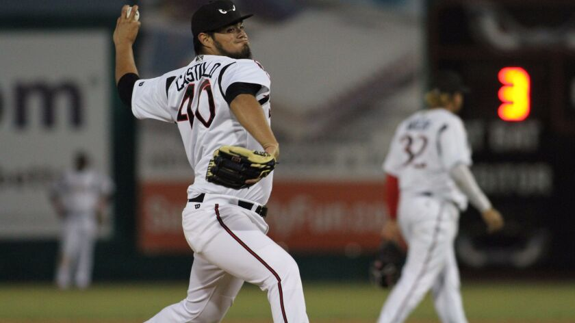 Padres left-hander Jose Castillo pitched most of 2017 at high Single-A Lake Elsinore.