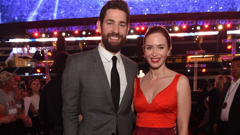 Emily Blunt And John Krasinski Welcome A Second Baby Girl Los Angeles Times