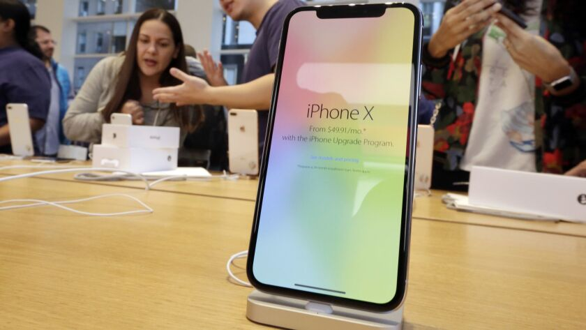 There are fears that the iPhone X, Apple's flagship $999 handset, already may be losing momentum a quarter after its release.