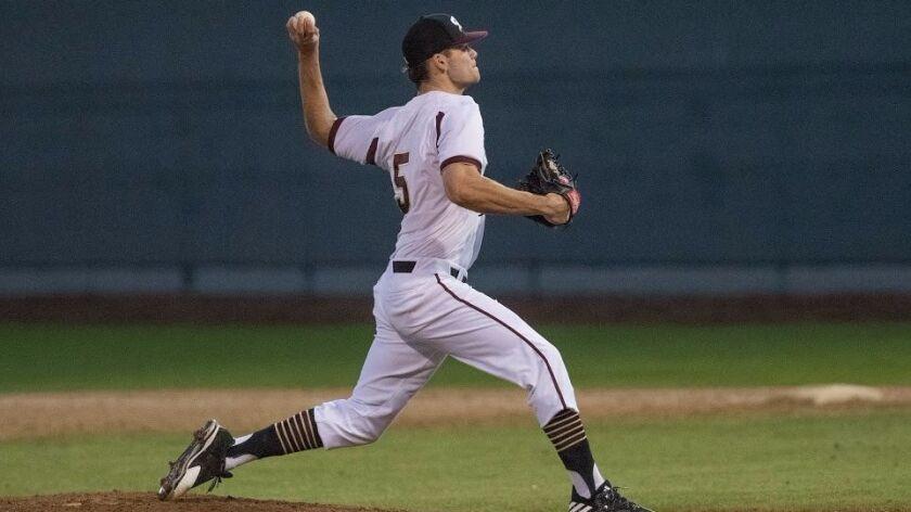 Tucker Baca, University of Saint Katherine baseball