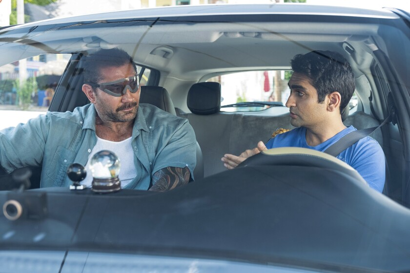 "***SUMMER SNEAKS 2019**DO NOT USE PRIOR TO APRIL 28, 2019***Dave Bautista and Kumail Nanjiani in ""S"