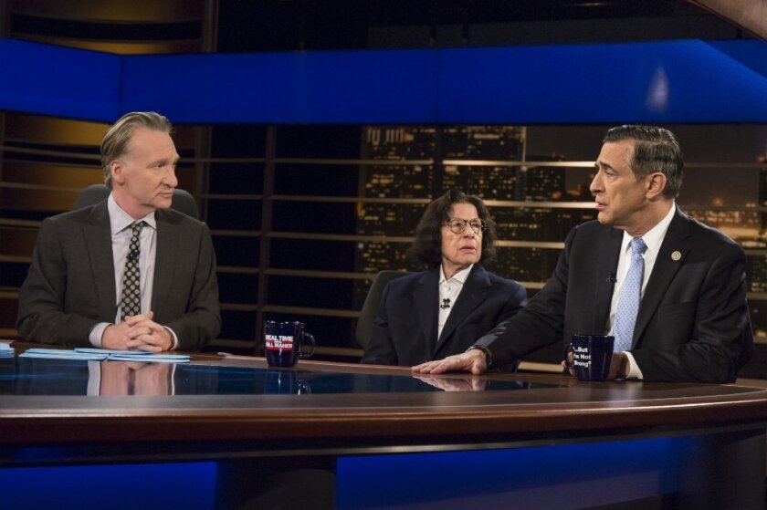 Rep. Darrell Issa appeared a lot on Bill Maher's HBO show