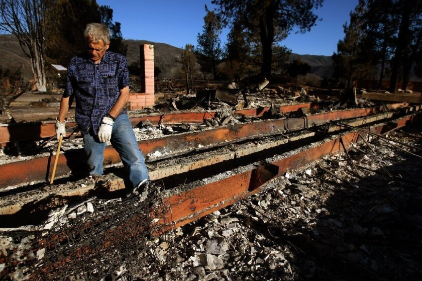 Powerhouse Fire destroys buildings