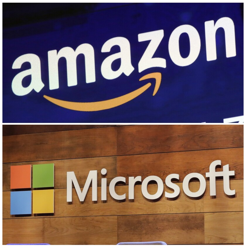 "Amazon is protesting the Pentagon's decision to award a huge cloud-computing contract to Microsoft, citing ""unmistakable bias"" in the decision."