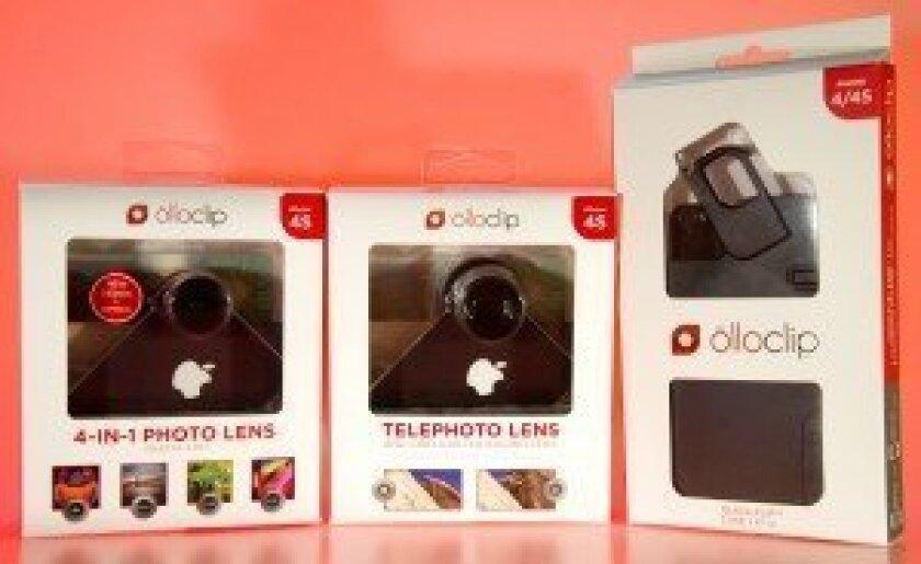 olloclip lenses & case for iPhone 4S